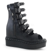 VENOM - 110 Black Vegan Leather
